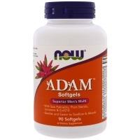 ADAM Superior Mens Multi 90 Softgels, NOW Foods