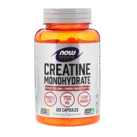 Creatine Monohydrate 750mg 120 Caps, NOW Foods