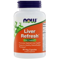 Liver Refresh 90 Caps, NOW Foods