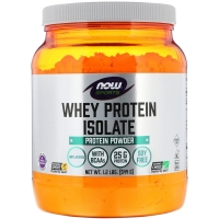 Whey Protein Isolate 544g, NOW Foods