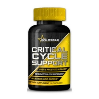 Critical Cycle Support 90 caps, Gold Star