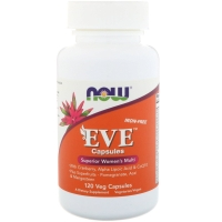 EVE Superior Women's multi 120 Veg Caps, NOW Foods