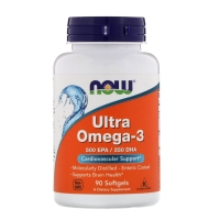 Ultra omega 3 90 Softgels, NOW Foods