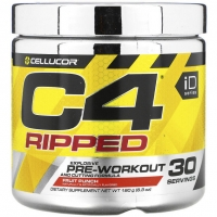 C4 Ripped Pre-Workout 30 Servings, Cellucor
