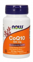 CoQ10 100mg 30 Caps, NOW Foods