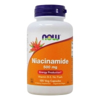 Niacinamide 500mg 100 Veg Caps, NOW Foods