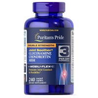 Double Strength Glucosamine, Chondroitin MSM 240 Tabs, Puritans Pride