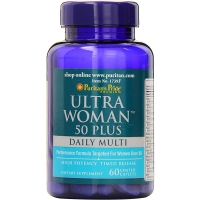 Ultra Woman 50 plus Daily Muti 60 Tabs, Puritans Pride