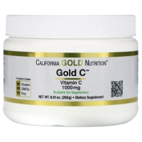 Gold Vitamin C 1000mg 250g, California GOLD Nutrition