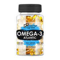 Omega 3 Atlantic 90 Softgels, Powerful Progress