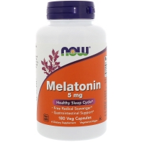 Melatonin 10mg 100 Caps, NOW Foods
