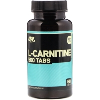 L-Carnitine 500 60 Tabs, Optimum Nutrition