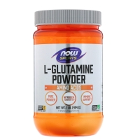 L-Glutamine Powder 454g, NOW Foods
