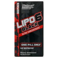 Lipo-6 Black Ultra Concentrate 60caps, Nutrex