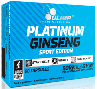 Platinum Ginseng 550 Sport Edition 60 Caps, Olimp