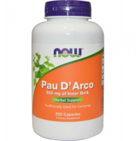 Pau D Arco 500mg 100 Veg Caps, NOW Foods