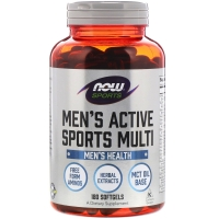 Mens Extreme Sport Multi 90 Softgels, NOW Foods