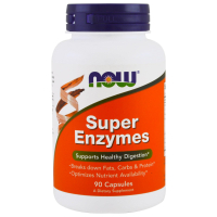 Super Enzymes 90 Caps, NOW Foods