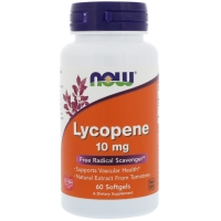 Lutein 10mg 60 Softgels, NOW Foods