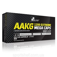 AAKG 1250mg Extreme Mega 120caps, Olimp Nutrition