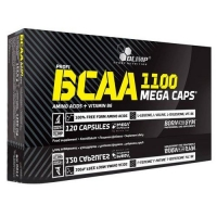 BCAA Mega Caps 1100mg 120caps, Olimp Nutrition