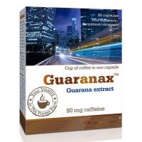 Guaranax (80mg of coffeine) 60caps, Olimp Labs