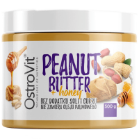 Peanut Butter+ honey 500g, OstroVit