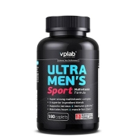 Ultra Mens Sport Multivitamin 180 caps, VP Lab