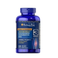 Double Strength Glucosamine, Chondroitin MSM 120 Tabs, Puritans Pride