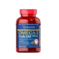 Double Strength Omega 3 1200mg 180 Softgels, Puritans Pride