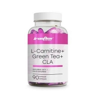 L-Carnitine + Green Tea + CLA 90 caps, IronFlex
