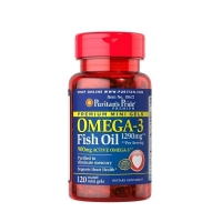 Omega 3 Fish Oil 1290mg 120 Mini Softgels, Puritans Pride