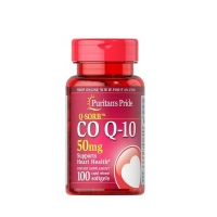 Q-SORB Co Q10 50mg 100 Softgels, Puritans Pride